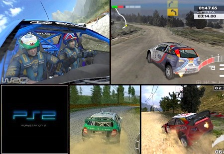 World Rally Championship 3 (PAL EU NTSC-J Eng Jap It De Po Fr No Fi Su Es) - Download ISO ROM (PS2)