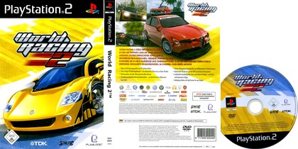 World Racing 2 (PAL EU Eng Es It Fr De) - Download ISO ROM (PS2)