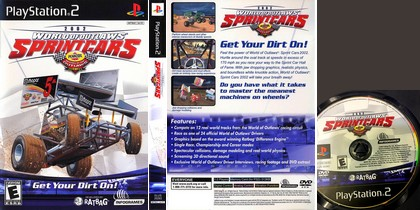 World of Outlaws: Sprint Cars 2002 (NTSC-U US Eng) - Download ISO ROM (PS2)