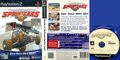 World of Outlaws Sprint Cars (PAL EU Eng) - Download ISO ROM (PS2)