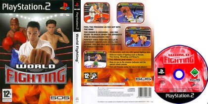 World Fighting (PAL EU Eng) - Download ISO ROM (PS2)