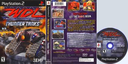 World Destruction League: Thunder Tanks (NTSC-U US PAL EU Eng It De Fr Es) - Download ISO ROM (PS2)
