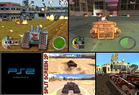 WDL: Thunder Tanks (PAL EU NTSC-U US Eng Fr Es It De) - Download ISO ROM (PS2)