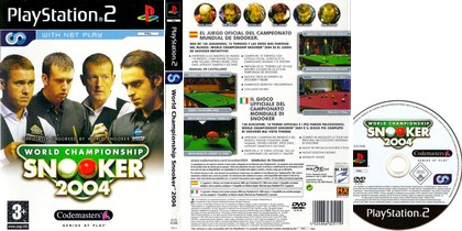 World Championship Snooker 2004 (PAL EU Eng) - Download ISO ROM (PS2)
