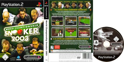 World Championship Snooker 2003 (PAL EU Eng) - Download ISO ROM (PS2)