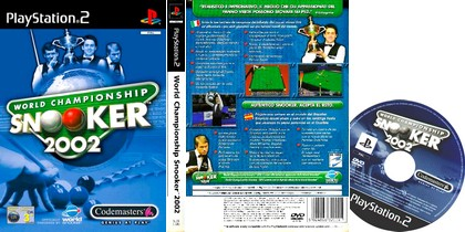 World Championship Snooker 2002 (PAL EU Eng De Fr) - Download ISO ROM (PS2)