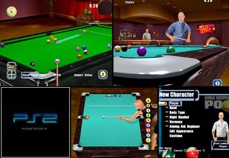 World Championship Pool 2004 (NTSC-U US PAL EU Eng Fr De) - Download ISO ROM (PS2)