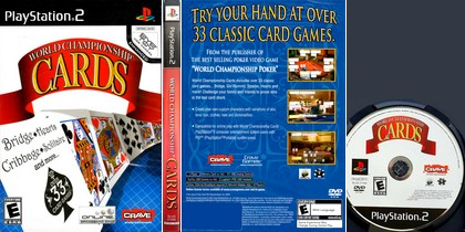 World Championship Cards (NTSC-U US Eng) - Download ISO ROM (PS2)