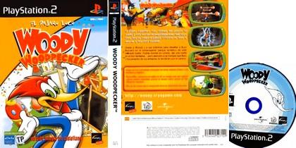 Woody Woodpecker El Pajaro Loco (PAL EU Eng Spa Es) - Download ISO ROM (PS2)