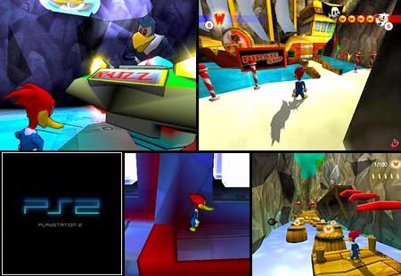 Woody Woodpecker: Die Flucht aus Buzz Buzzard's Park (PAL EU Eng Ger De) - Download ISO ROM (PS2)