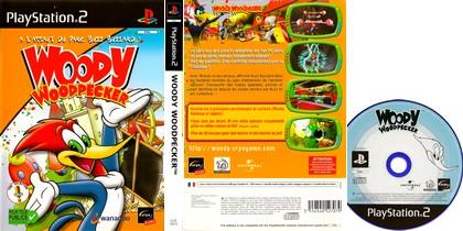 Woody Woodpecker: A L'assaut Du Parc Buzz Buzzard ! (PAL EU Eng Fr) - Download ISO ROM (PS2)