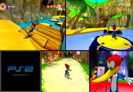 Woody Woodpecker: Escape from Buzz Buzzard's Park! (PAL EU Eng De Fr It Es) - Download ISO ROM (PS2)