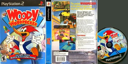 Woody Woodpecker: Escape from Buzz Buzzard Park (NTSC-U US Eng) - Download ISO ROM (PS2)