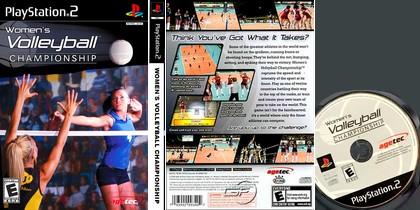 Women's Volleyball Championship (NTSC-U US Eng) - Download ISO ROM (PS2)