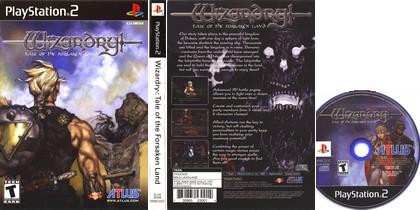 Wizardry: Tale of the Forsaken Land (NTSC-U US PAL EU Eng) - Download ISO ROM (PS2)