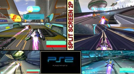 WipEout Pulse (PAL EU Eng Fr De It Es) - Download ISO ROM (PS2)
