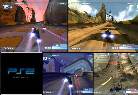 WipEout Fusion (PAL EU NTSC-U US Eng Fr De It Es) - Download ISO ROM (PS2)