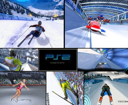 Winter Sports 2008: The Ultimate Challenge (NTSC-U US PAL EU Eng Fr De) - Download ISO ROM (PS2)