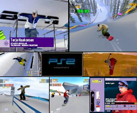 Winter X-Games Snowboarding 2002 (NTSC-U US NTSC-J Jap Eng) - Download ISO ROM (PS2)
