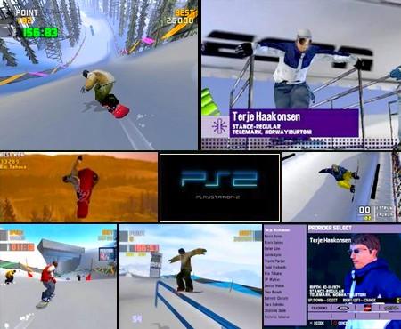 Winter X-Games Snowboarding 2 (PAL EU Eng Fr De) - Download ISO ROM (PS2)