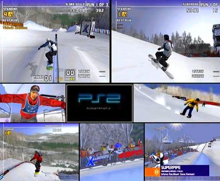 Winter X-Games Snowboarding (PAL EU NTSC-U US NTSC-J Jap Eng Fr De) - Download ISO ROM (PS2)