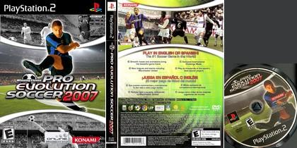 Winning Eleven: Pro Evolution Soccer 2007 (NTSC-U US Eng Fr De Es It) - Download ISO ROM (PS2)