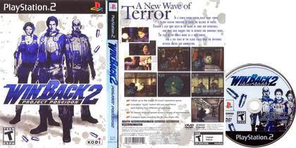 WinBack 2: Project Poseidon (NTSC-U NTSC-J Jap US Eng) - Download ISO ROM (PS2)