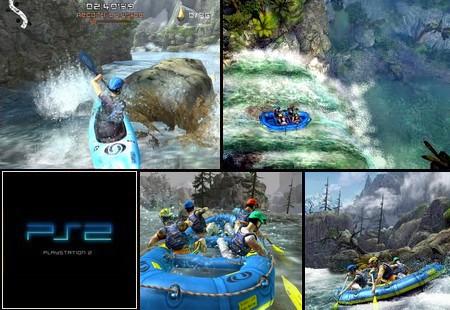 Wild Water Adrenaline featuring Salomon (PAL EU Jap Eng Fr De It Es) - Download ISO ROM (PS2)