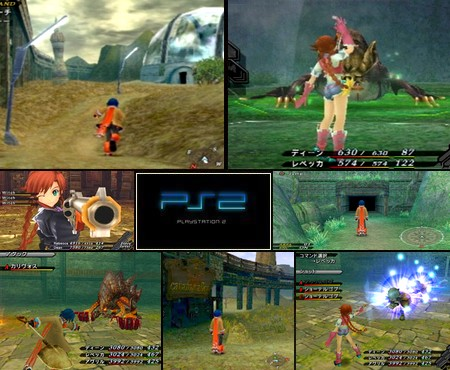 Wild Arms 5 (UnDub) (USA Japanese voice - Eng text sub) - Download ISO ROM (PS2)