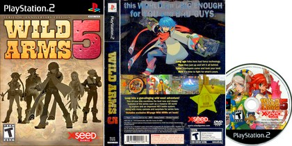 Wild Arms 5 (NTSC-U US PAL EU Eng Fr It) - Download ISO ROM (PS2)