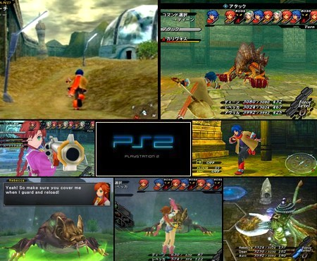 Wild Arms 5 (NTSC-U US PAL EU Eng Fr It) - Download ISO ROM (PS2)