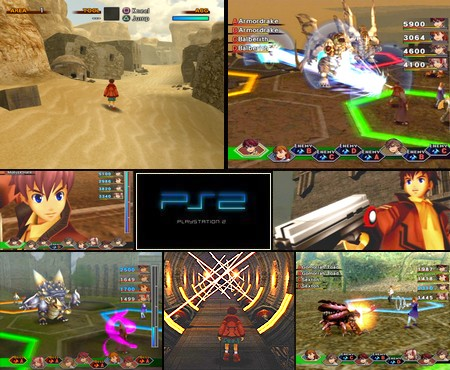 Wild Arms 4 (UnDub) (USA Eng text sub - Japanese voice) - Download ISO ROM (PS2)
