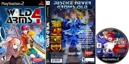 Wild Arms 4 (NTSC-U US PAL EU Eng) - Download ISO ROM (PS2)