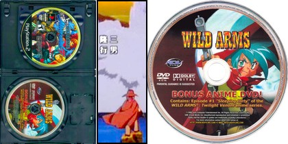 Wild Arms Alter Code: F (TV Bonus Anime DVD Disc) (Jap Eng) - Download ISO ROM (PS2)