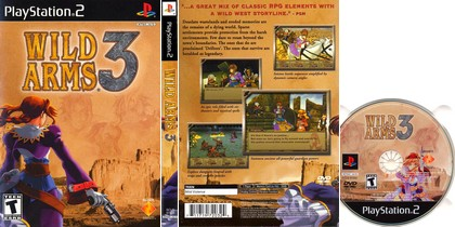 Wild Arms 3 (NTSC-U US PAL EU Eng) - Download ISO ROM (PS2)
