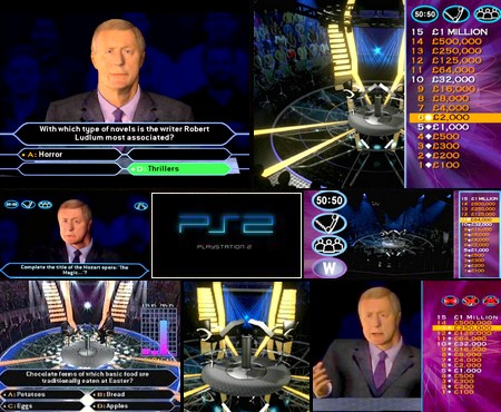 Who Wants to Be a Millionaire 2nd Edition (PAL EU Eng Fr Ger De) - Download ISO ROM (PS2)