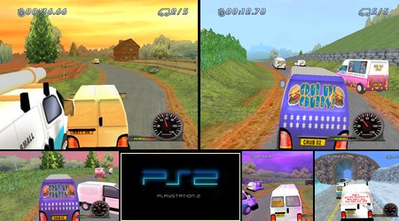 White Van Racer (PAL EU Eng) - Download ISO ROM (PS2)