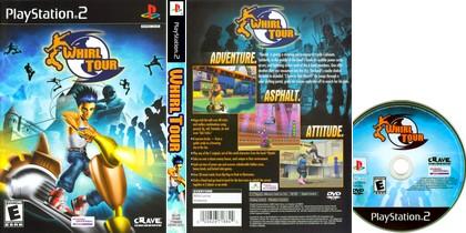Whirl Tour (NTSC-U US PAL EU Eng Fr De Es It) - Download ISO ROM (PS2)