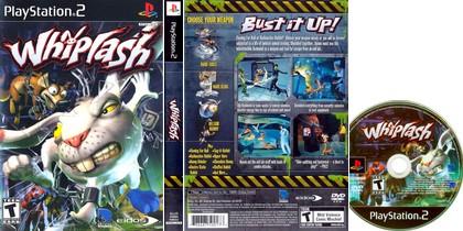 Whiplash (NTSC-U US PAL EU Eng Fr De Es It) - Download ISO ROM (PS2)