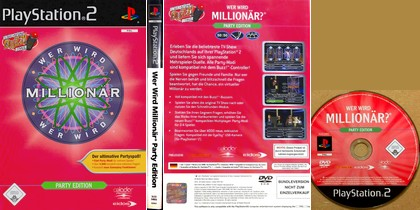 Wer Wird Millionär: Party Edition (PAL EU De Ger) - Download ISO ROM (PS2)