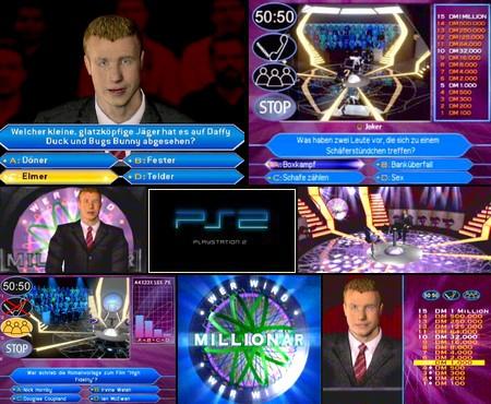Wer Wird Millionär: 2. Edition (PAL EU Ger De) - Download ISO ROM (PS2)