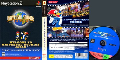 Welcome to Universal Studios Japan (J) - Download ISO ROM (PS2)