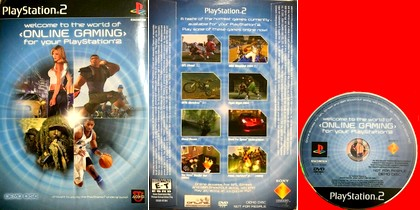 Welcome to the World of Online Gaming for Your PlayStation 2 (Demos, Trial) (NTSC-U US Eng) - Download ISO ROM (PS2)
