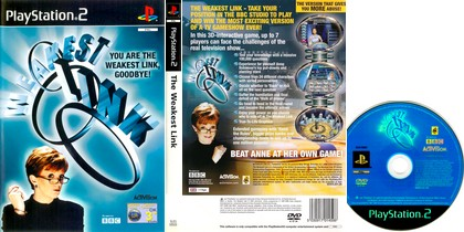 The Weakest Link (PAL EU Eng Fr) - Download ISO ROM (PS2)