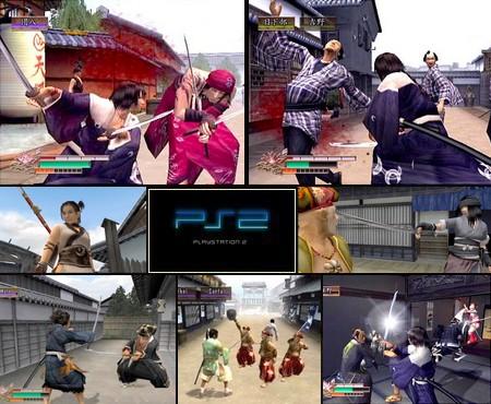 Way of the Samurai 2 (PAL EU NTSC-U US Eng De Ger Fr Jap) - Download ISO ROM (PS2)