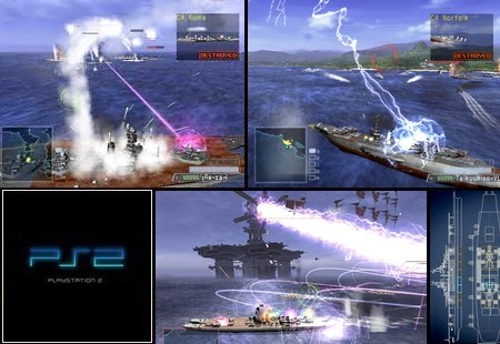 Warship Gunner 2 (NTSC-U US Eng Jap) - Download ISO ROM (PS2)