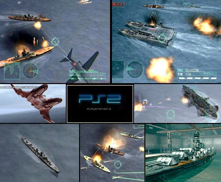 Warship Commander 2: Kurogane no Houkou (J) - Download ISO ROM (PS2)