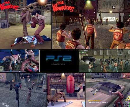 The Warriors (NTSC-U US PAL EU Eng Fr De Es It) - Download ISO ROM (PS2)