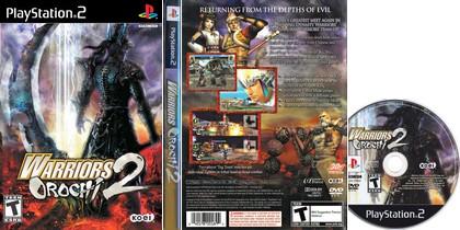 Warriors Orochi 2 (NTSC-U US PAL EU Eng De Fr Kor) - Download ISO