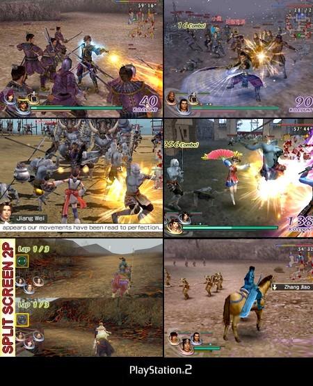 Warriors Orochi 2 (NTSC-U US PAL EU Eng De Fr Kor) - Download ISO ROM (PS2)